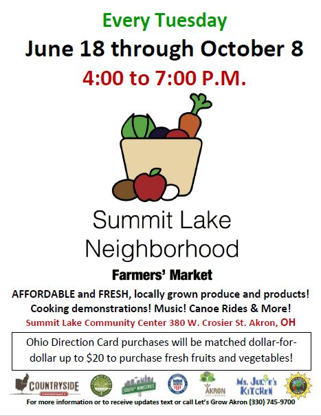 Summit Lake Neighborhood Farmer's Market