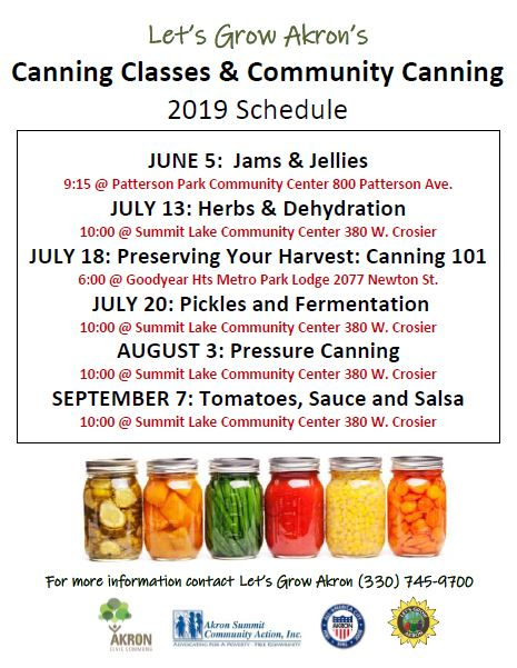 Canning Classes & Community Canning